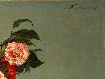 Fantin Latour Still Life 1866 detail5