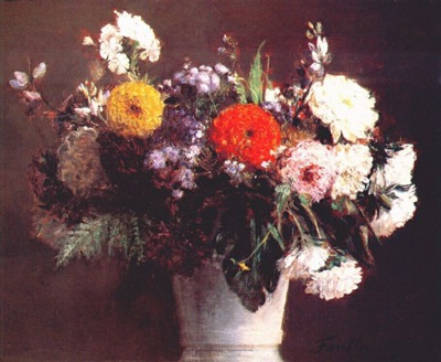 fantin latour autumn bouquet
