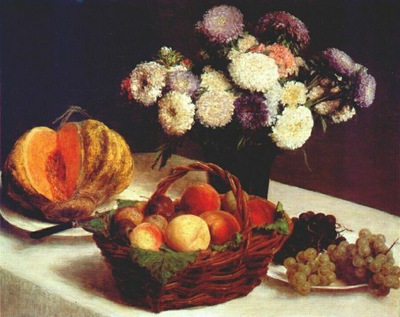 fantin latour china asters and fruit