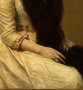 Fantin Latour Portrait of Sonia 1890 detail2