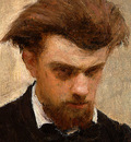 Fantin Latour Self Portrait 1861 detail2