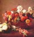 fantin latour these are the flowers of middle summer