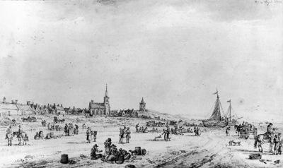Fargue la Paulus The beach of Katwijk Sun