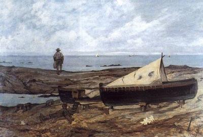 Giornata grigia 1893 Livorno, Museo Fattori