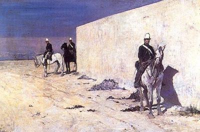 In vedetta 1872 Collezione Privata
