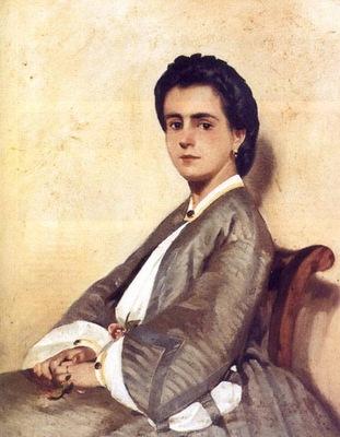 Ritratto della cugina Argia 1861 Firenze, Galleria dArte