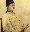 Ritratto della figliastra 1889 Firenze, Galleria darte mo