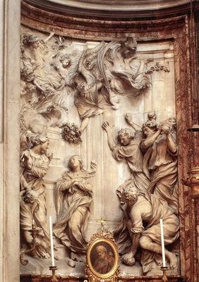 Ferrata Stoning of St Emerenziana