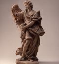 Ferrata Ercole Angel with Cross c1668