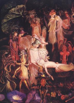 bs ew Fairy Funeral [John Anster Fitzgerald]