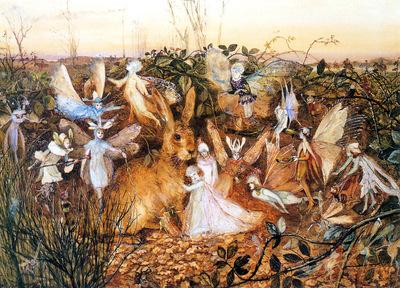 kb Fitzgerald JA Rabbit Among the Fairies