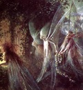 ma Fitzgerald Faeries Looking Through a Gothic Arch