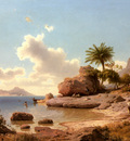 Flamm Albert Ansicht Von Capri