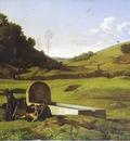 flandrin paul i penitenti nella campagna romana