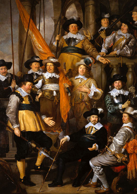 flinck govert the company of captain albert bas sun