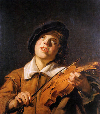 Follewer Frans Hals Violin player Sun