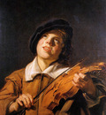 Follewer Frans Hals Violin player Sun