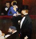 Forain Jean Louis Bos at the Opera Sun
