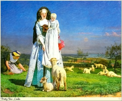 Republica SWD 019 Ford Madox Brown Pretty Baa Lambs