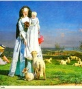 Republica SWD 019 Ford Madox Brown Pretty Baa Lambs