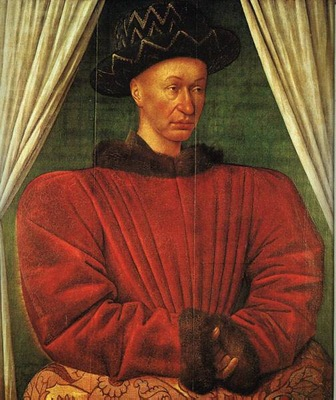 FOUQUET PORTRAIT OF CHARLES VII, LOUVRE