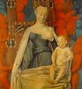 FOUQUET MADONNA, MUSEE ROYALE DES BEAUX ARTS, ANTWERP