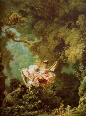Fragonard Honore The Swing