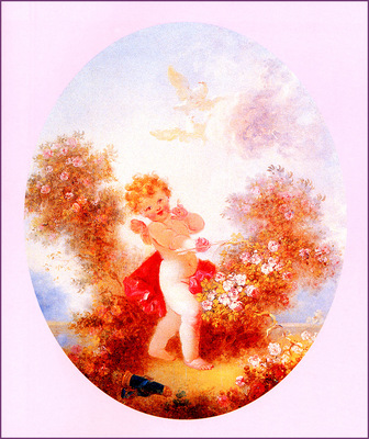 bs Jean Honore Fragonard Cupid Between The Roses
