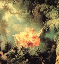 Fragonard, Jean Honore The Swing detail end