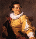 Fragonard Jean Honore Portrait of a man called the warrior