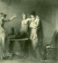 Fragonard psyche and her two sisters
