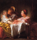 bs ahp Jean Honore Fragonard The Stolen Kiss