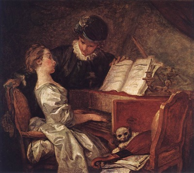 Fragonard Music Lesson