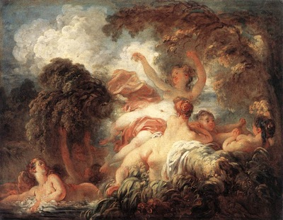 Fragonard The Bathers