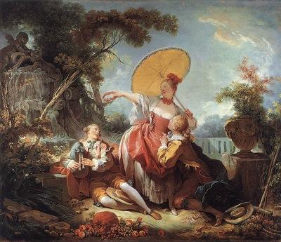 Fragonard The Musical Contest