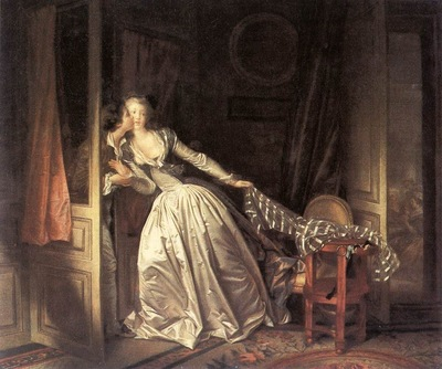 Fragonard The Stolen Kiss