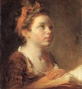 Fragonard A Young Scholar