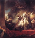 Fragonard Coresus Sacrificing himselt to Save Callirhoe