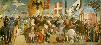 Piero della Francesca Battle between Heraclius and Chosroes,
