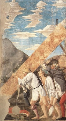 Piero della Francesca The Arezzo Cycle Burial of the Wood