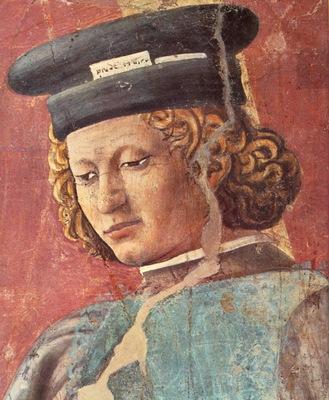 Piero della Francesca The Arezzo Cycle Torture of the Jew detail