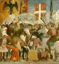 Piero della Francesca Battle between Heraclius and Chosroes,