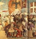 Piero della Francesca The Arezzo Cycle Battle between Heraclius and Chosroes detail [03]