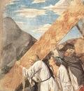 Piero della Francesca The Arezzo Cycle Burial of the Wood