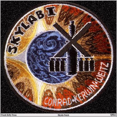 QMan FKF AHSI 1695 Skylab Patch