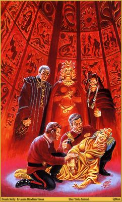 QMan FKLBF AHSI 1621 Star Trek Annual