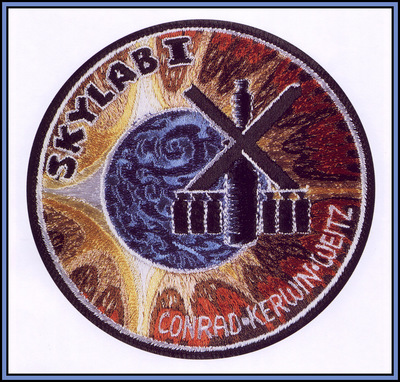 Freas Frank Kelly AHSI28 Skylab Patch D50