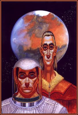 Freas Frank Kelly AHSI78 The Martians D50