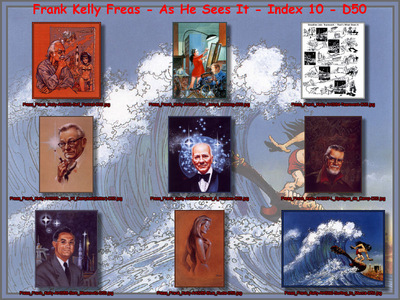 Freas Frank Kelly As He Sees It Index 10 D50