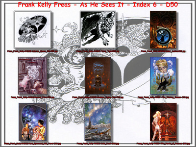 Freas Frank Kelly As He Sees It Index 6 D50